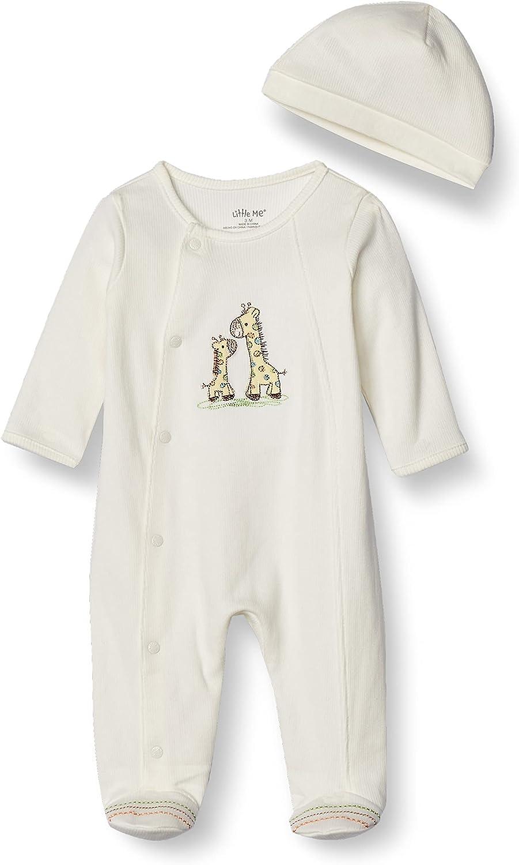 Little Me online shop Baby-Girls Import Unisex Baby 2 Footie Cap and Set Piece