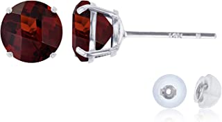 Best garnet earrings gold Reviews