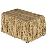 Size is 30-Inch x9 Foot Raffia Material Table Decoration 1 per package Party Accessory