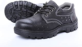 SHANLEE Men's Labor Insurance Shoes Work Shoes Safety Shoes Industrial Shoes