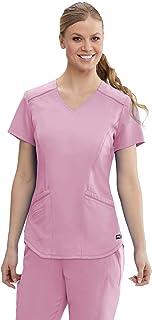 Grey's Anatomy Avana Top para mujer - Easy Care Medical Scrub Top