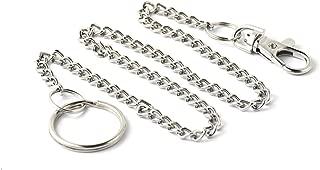 KEY-BAK Pocket Chain Bolt Snap Key Chain Accessory with 1.125 inch Split Ring, 19 inch Chain