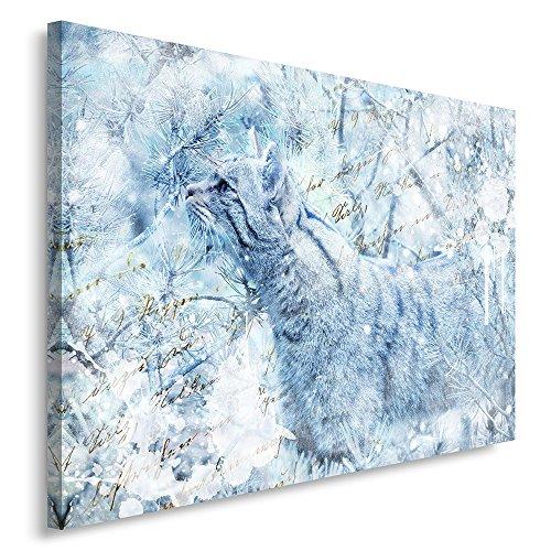 Feeby. Tableau Déco - 1 Partie - 30x40 cm, Impression sur Toile Décoration Murale Image Imprimée,...