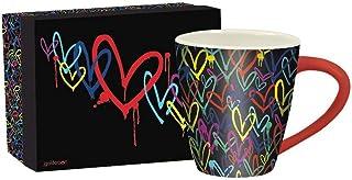 Lang Artisan Bleeding Hearts Café Mug , 17 oz, Multi