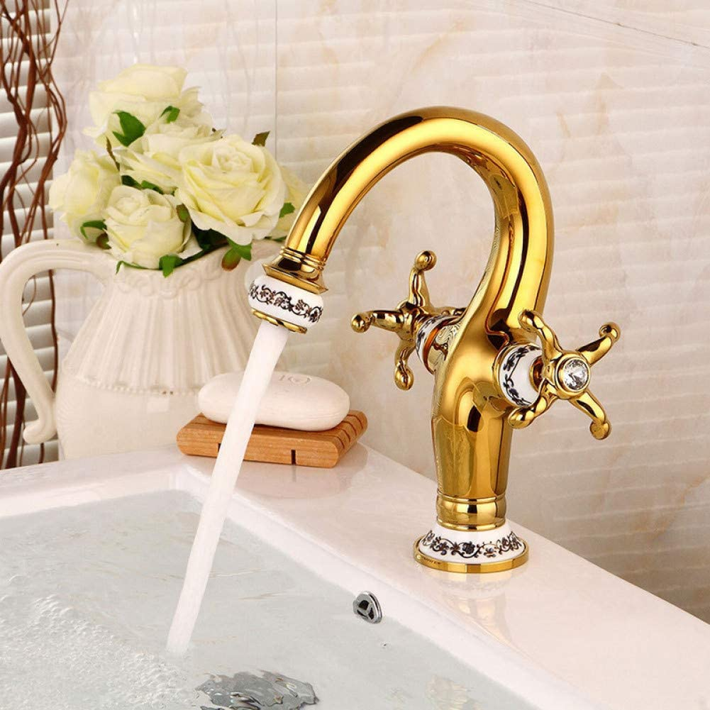 Bathroom Sink National uniform free shipping Taps Basin Faucets Directly managed store Brass H Tap Mixer