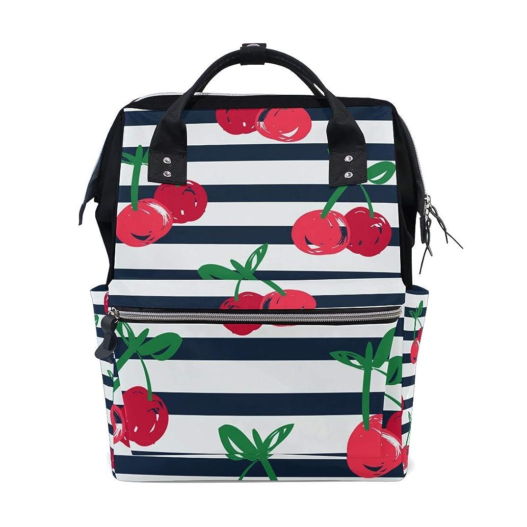 Cute Cartoon Cherry School Backpack Large Capacity Mummy Bags Laptop Handbag Casual Travel Rucksack Satchel For Women Men Adult Teen Children