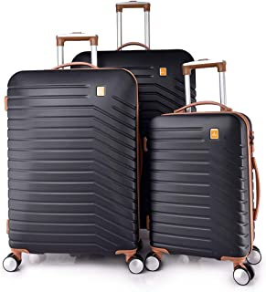 TRACK Luggage set HARD 3 pieces size 30/25/20 inch 9012/3P (Black)