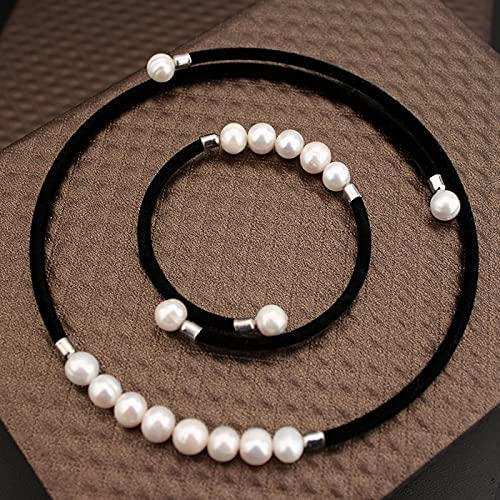 NMKIET 100% Real Award Natural Fresh Water For Pearl Sta Free shipping Jewelry Women