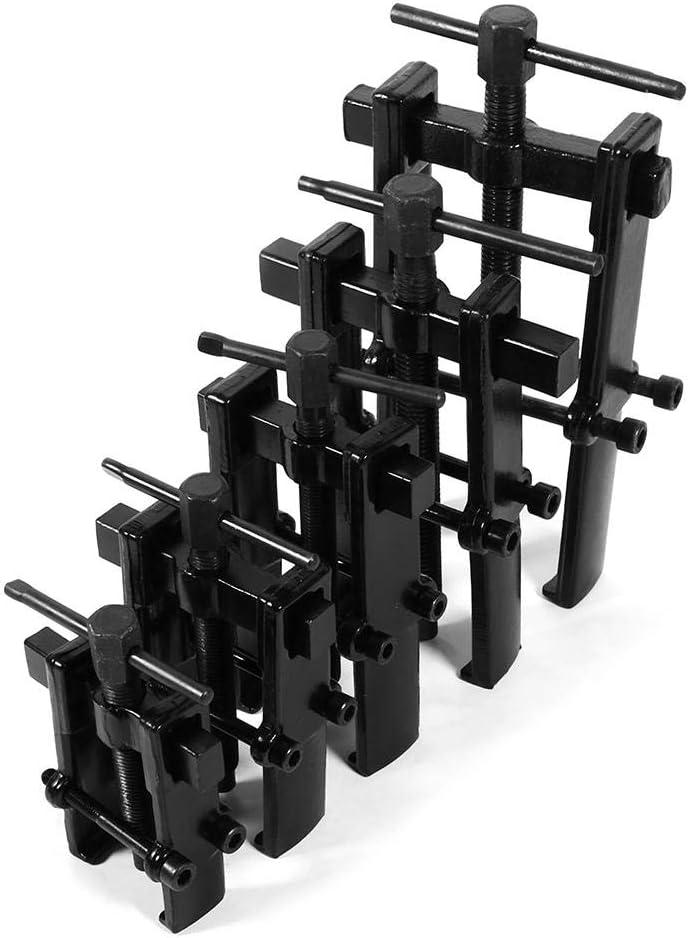 Engranaje de rodamiento Dos mordazas Piernas gemelas Extracción de engranaje de rodamiento Herramienta manual Kit de extracción de conjunto de extractor de engranajes(3inch(38 * 65))