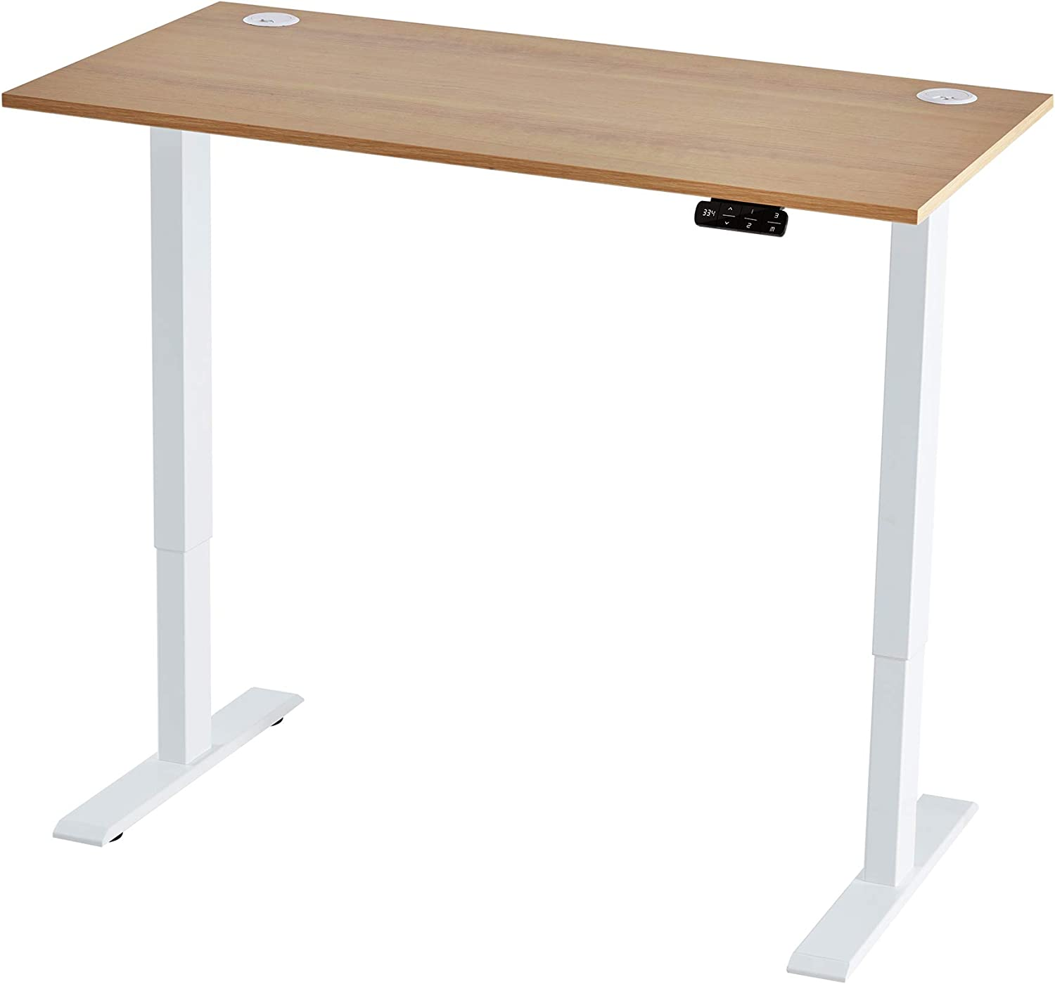Vicllax Electric Kansas City Mall Standing Desk Height x Table Adjustable 24 Rapid rise 48