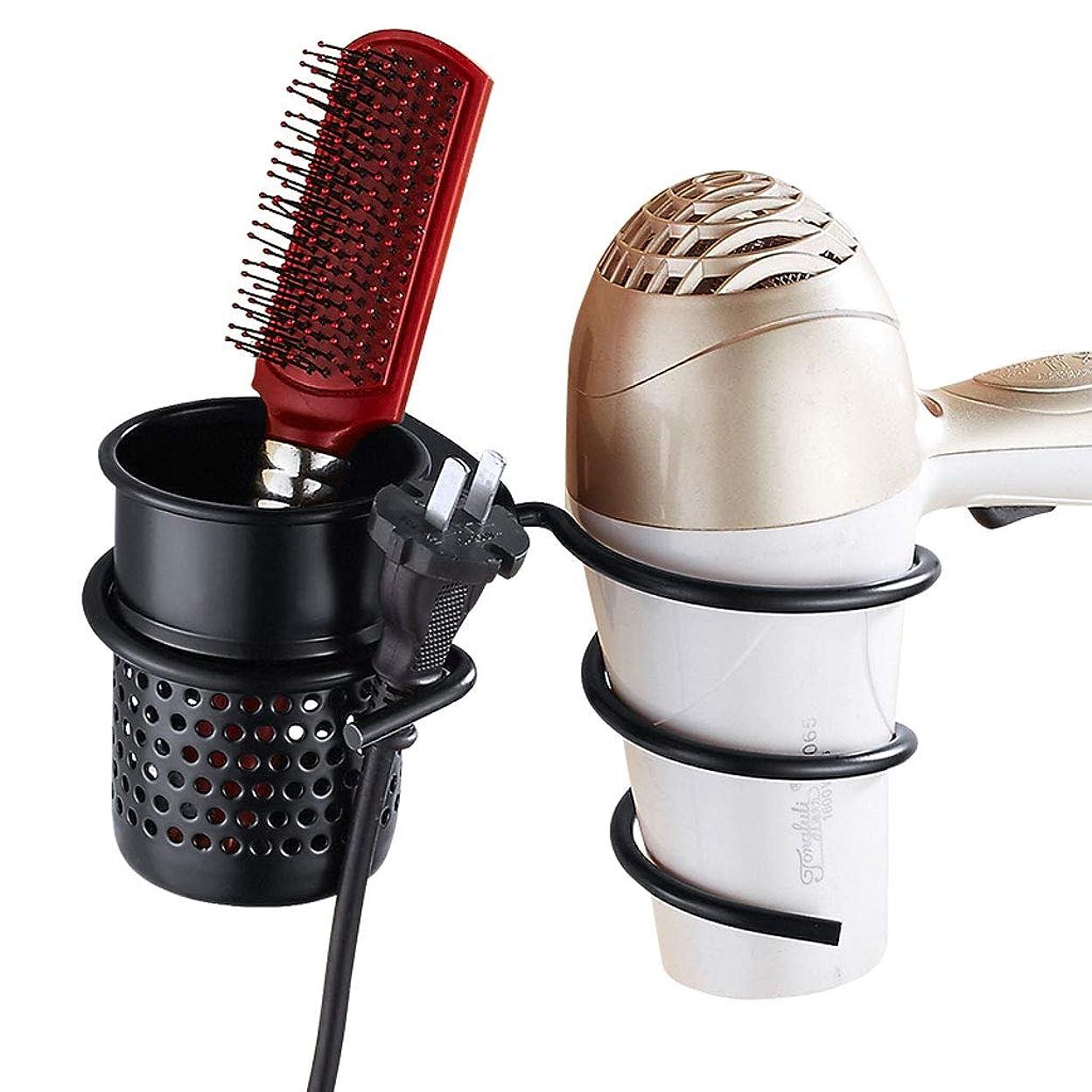 葡萄早く動く浴室の棚、タオル掛け 掘削せずに壁掛けバスルーム棚、櫛ストレージ髪ラックバスルーム棚 (Color : Black)