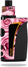 MightySkins Skin Compatible with Innokin iTaste Kroma Slipstream – Pink Roses | Protective, Durable, and Unique Vinyl Decal wrap Cover | Easy to Apply, Remove, and Change Styles | Made in The USA