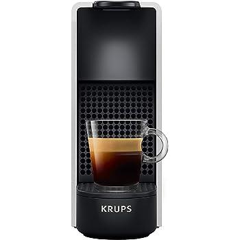Krups Nespresso XN110E Essenza Mini - Cafetera compacta (1260 W, presión de la bomba de 19 bar, apagado automático), color plateado: Amazon.es: Hogar