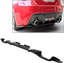 TC Sportline BO-SUBR131223 Type-OE Polyurethane PU Rear Bumper Lip Spoiler for 2012-2016 SCION FR-S
