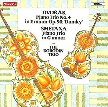 """Dvorak: Piano Trio No. 4, """"Dumky"""" / Smetana: Piano Trio"""