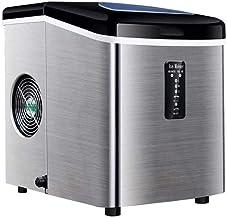 Machine à glaçons, Comptoir de machine à glaçons en acier inoxydable, glaçons prêts à 6 minutes, fonction propre propre, é...