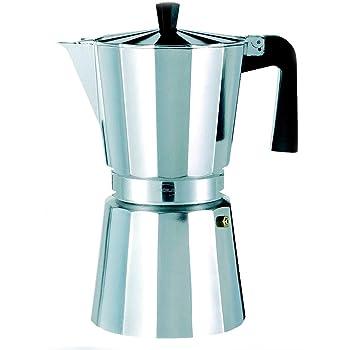 Oroley - Cafetera Italiana New Vitro | Aluminio | 12 Tazas ...