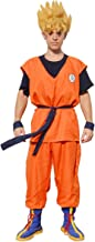 miccostumes Men's Goku Cosplay Costume with Boot Covers