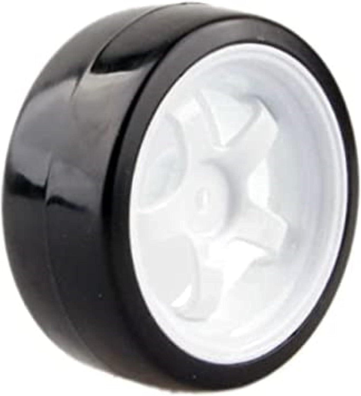 Youmine Max 86% OFF 4pcs 1 10 Drift Car Tires 2664MM Plastic Hard Rim Wheel 35% OFF