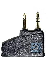 Alitutumao 3.5mm Flight Headphone Airline Airplane Adapter Converter Aviation Plugs Compatible with Bose QuietComfort QC2 QC3 QC15 QC20 QC25 QC35 OE2 AE2 AE2W Soundtrue Headphones