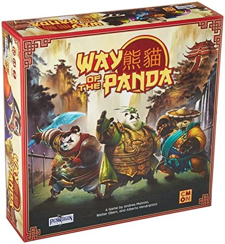 Cool Mini or Not Way of The Panda Board Game product image