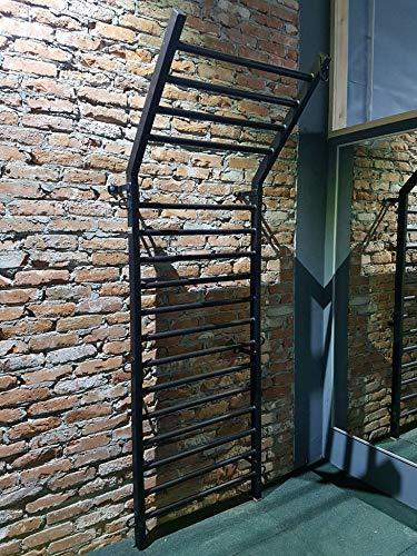ARTIMEX espaldera de Acero (Escalera Sueca) para Gimnasia y Fitness - utilizadas...