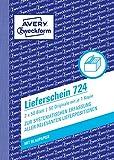 Avery Zweckform 723bolla di consegna DIN A6 1 pezzo, 100 Pezzi