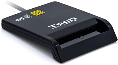 Tooq TQR-210B - Lector Externo de DNI electrónico y