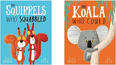 The Squirrels Who Squabbled+The Koala Who Could (Set Of 2 Books)