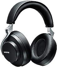 هدفون لغو نویز بی سیم Shure AONIC 50 ، صدا با کیفیت برتر استودیو ، فناوری بی سیم بلوتوث 5 ، راحتی در گوش ، عمر باتری 20 ساعت ، کنترل های انگشت - سیاه