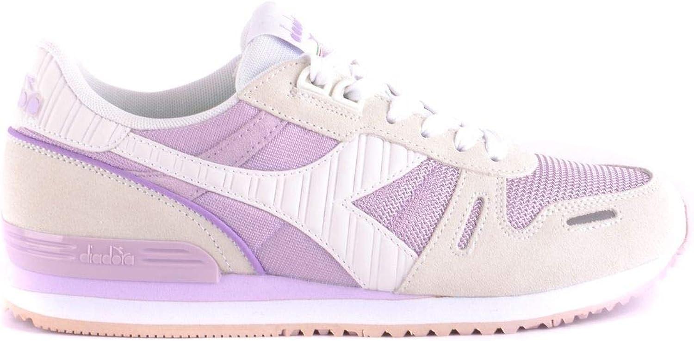 Diadora Women's MCBI35572 Pink Leather Sneakers