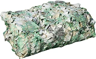 Mitef Heavy-Duty 150D Camo Netting Camouflage Net for Camping Hunting Blinds Shooting Military Decoration, Available in a Variety of Sizes and Colors