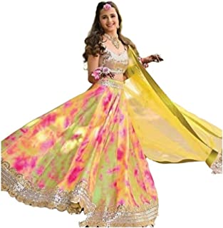 JustGoFashion Bella Indiana Tradizionale Etnico Bollywood Stile Matrimonio Trendy Indiano 3 pz lehenga choli - mjl59