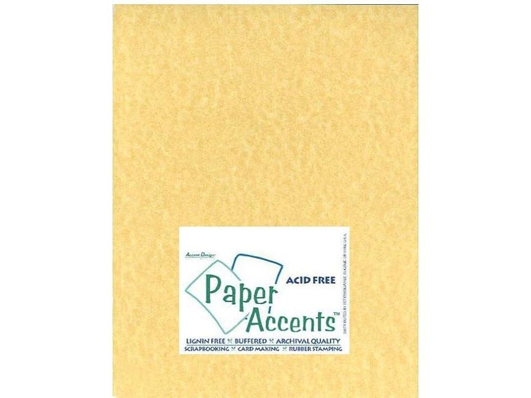 Accent Design Paper Accents PprParchment8511AncientGold Cdstk Parchment 8.5x11 65# Ancient Gold