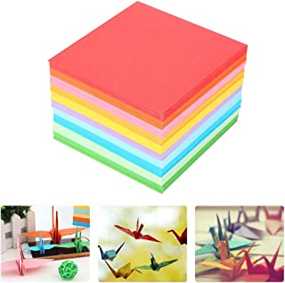 折り紙 千羽鶴用キット 手作り 折紙 両面同じ色 10色 520枚セット (7*7)