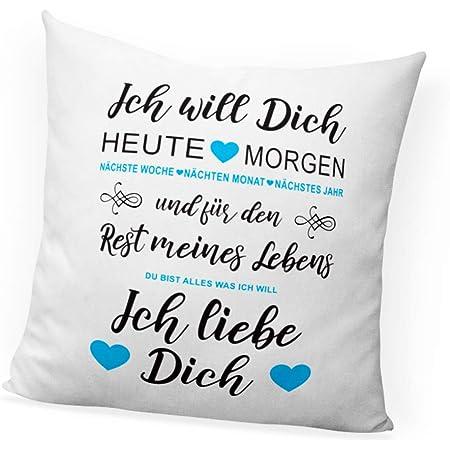 Keine Frau ist perfekt März Kissen 40x40 cm Geburtstag Geschenk Idee Monat Neu