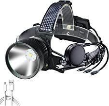 Koplamp Xhp100 9 Core Led Koplamp Ingebouwde Koeling Fun Zoom Hoofd Lamp Zaklamp Power Bank 7800 mah 3* 18650 Batterij Kop...