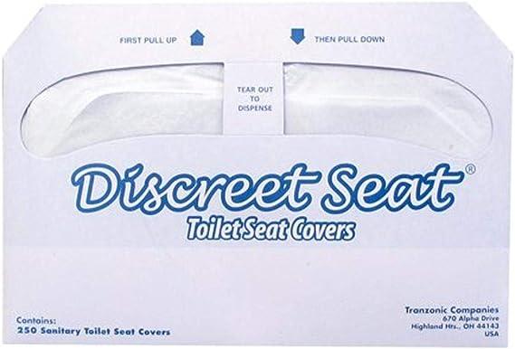 Kicode Si/ège de Toilette Coussin Velours Corail Couvercle de Toilettes Seat Cover Mat Super Chaud 4 Pack