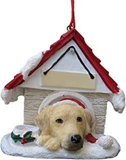 Yellow Labrador Ornament A Great Gift For Yellow Labrador Owners Hand Painted and Easily Personalized