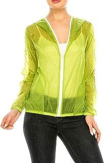 lime green windbreaker