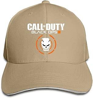 COD Black OPS 3 Flex Baseball Cap Black