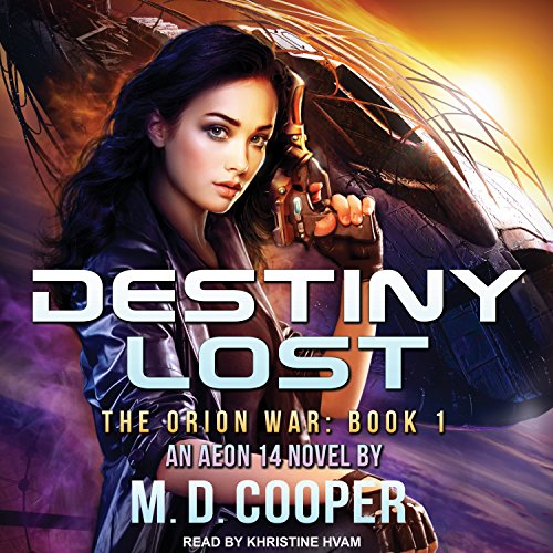 Destiny Lost audiobook cover art