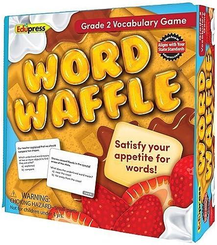 Word Waffle Vocabulary Game Größe 2 by Edupress