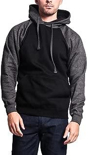 Premium Heavyweight Contrast Raglan Sleeve Pullover Hoodie