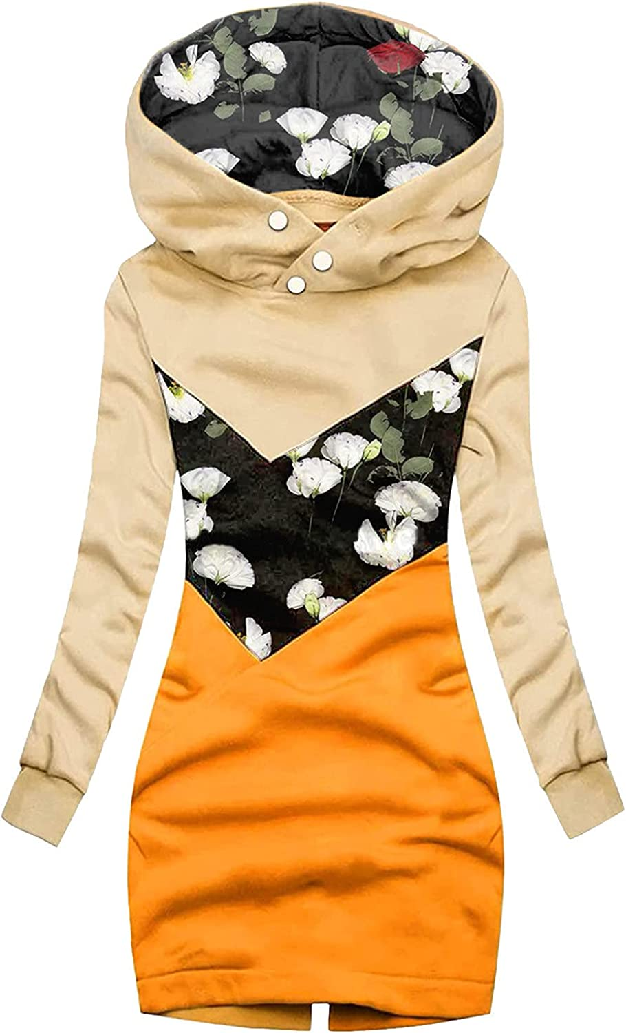 Cardigan Sweaters Low price For Women Direct sale of manufacturer Lounge Hooded Long Sleev Flower Coat