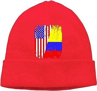 Hombres/Mujeres Camiseta de Raíces Colombianas Media Bandera ...