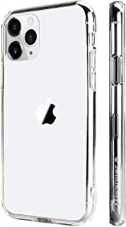 iPhone 11 Pro Clear Case, SwitchEasy Crush Clear Case for 5.8 inch iPhone with Soft Bumper + Hard Back Cover, Military Drop Protection & Scratch Resistant (Ultra Clear, 2019 iPhone 5.8