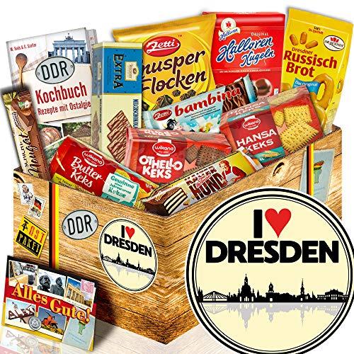 Keks Schokolade / DDR Paket/ I love Dresden / Geburtstagsüberraschung Dresden