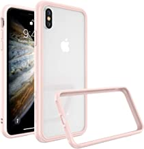 RhinoShield Ultra Protective Bumper Case for [ iPhone X/XS ] CrashGuard NX, Military Grade Drop Protection for Full Impact, Slim, Scratch Resistant, Blush Pink
