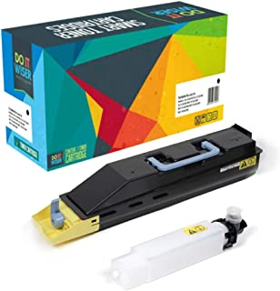 Do it Wiser Compatible Toner Cartridge Replacement for Kyocera TK-867 Kyocera TASKalfa 250ci TASKalfa 300ci | TK-867Y High Yield 12,000 (Yellow)